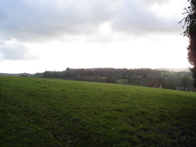 Downland below Beauchamp House