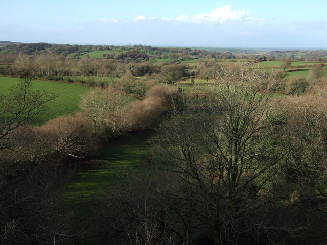 View west from Lake Viaduct