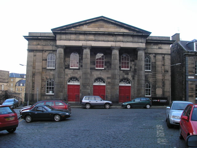The former Broughton Place Church