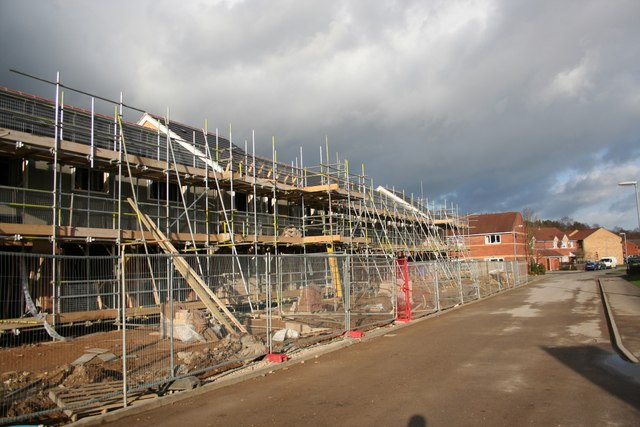 New housing on Epsom Drive