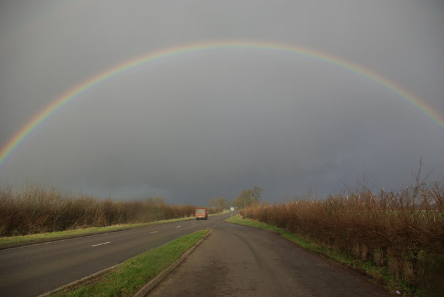 Rainbow over the Fosse Way
