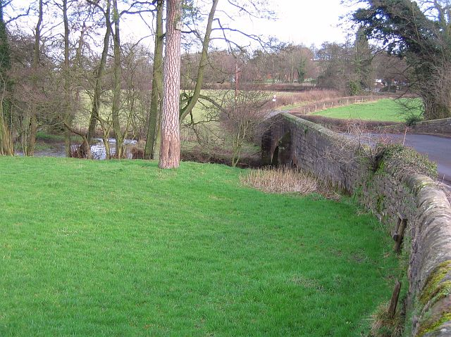 Stone bridge over Bentley brook
