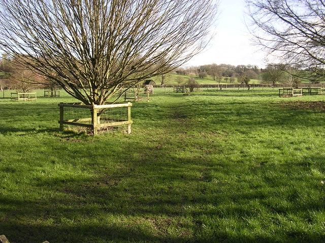 Footpath across 'The Park'