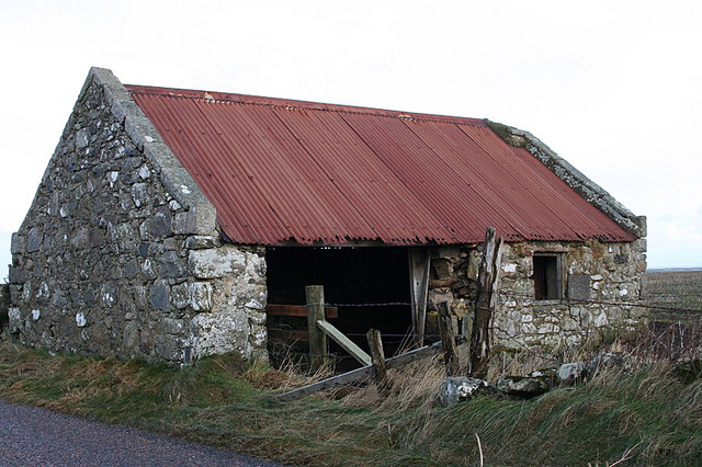 Cottage to cowshed.