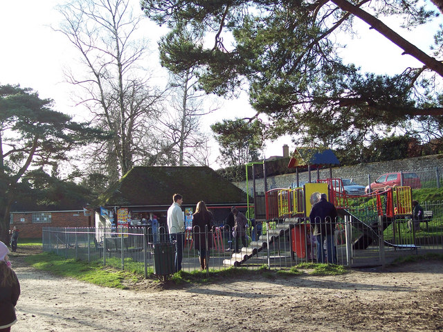 Children's Play Area at Heath Pond
