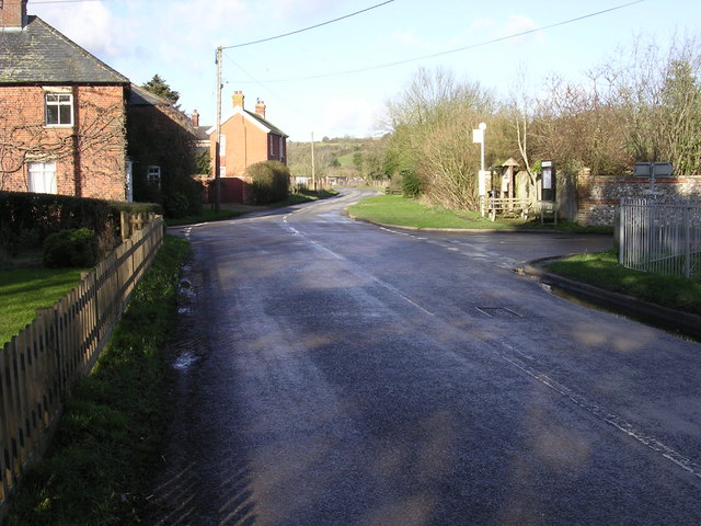 Junction with B3048 at Stoke
