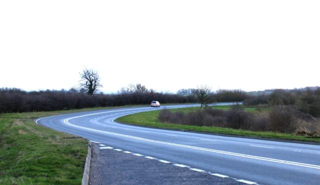 A47 towards Leicester