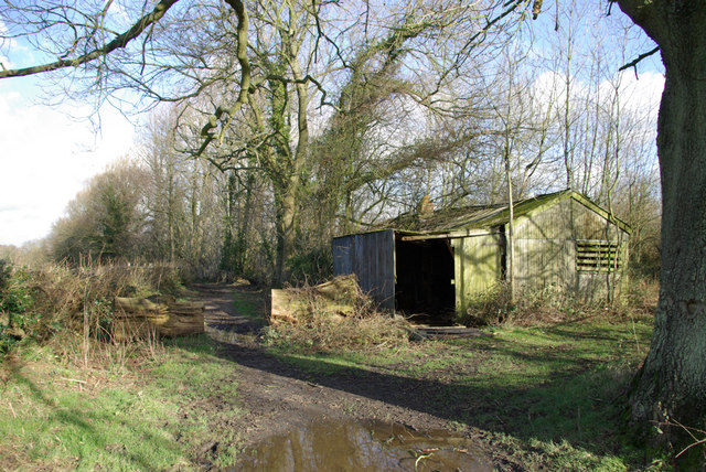 Shed by the Bridleway