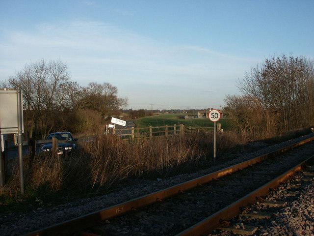 Gowdall  to  Snaith railway
