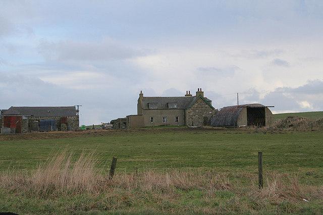 North Percyhorner Farm.
