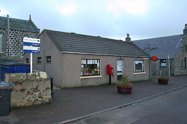 Inverallochy Post Office.
