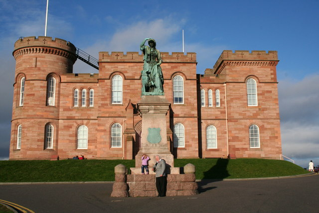 The Castle Inverness and Flora MacDonald Monument