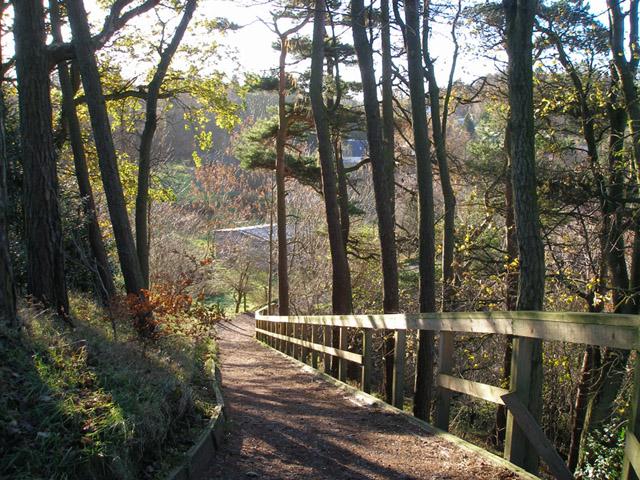 Almondell Country Park near Mid Calder