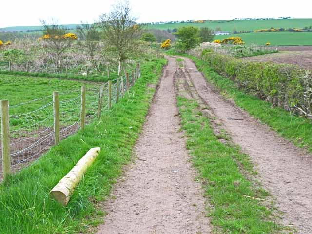 Southern Upland Way near Stranraer