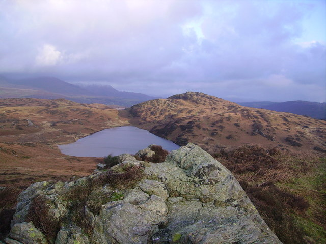 Beacon Tarn from Wool Knott