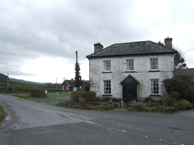 House at the Velindre Road turn