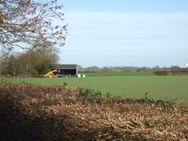 Farm building near Thurvaston