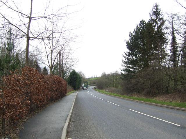 A438 at Pontithel