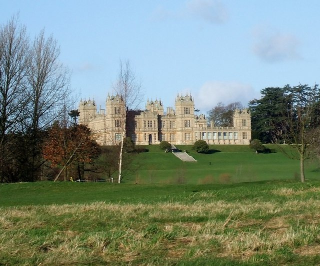 Mentmore Towers from the Golf Course