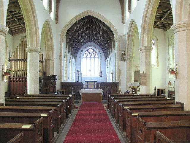 St Margaret, Suffield, Norfolk - East end