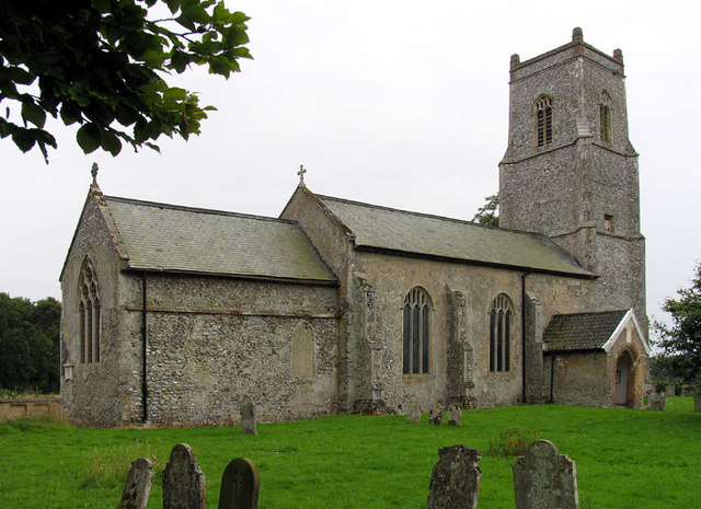 St Bartholomew, Hanworth, Norfolk