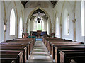 TG2633 : St Giles, Bradfield, Norfolk - East end by John Salmon