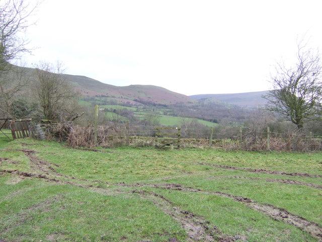 Footpath at Pen y bryn