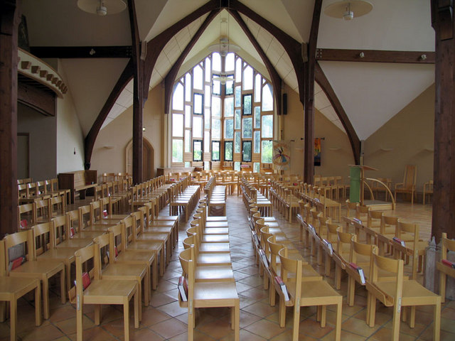 St Andrew with Christ Church, Eaton, Norfolk - Interior of Extension