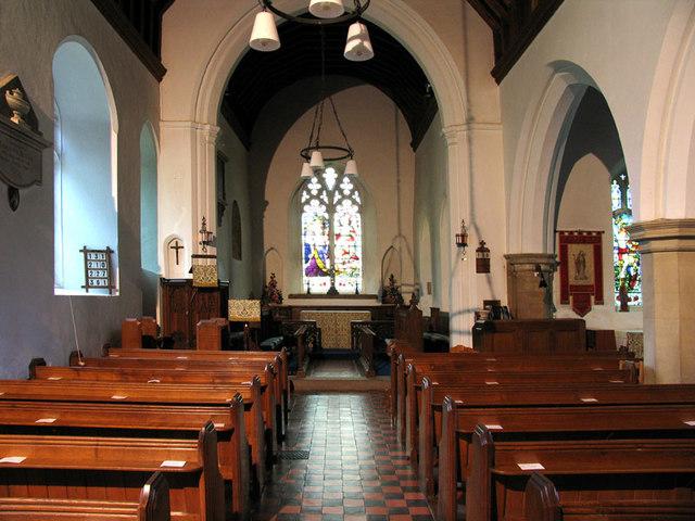 St Peter, Cringleford, Norfolk - East end