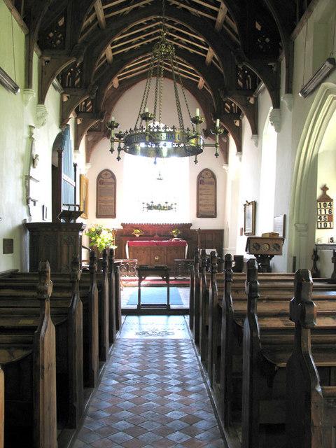 St Michael, Plumstead, Norfolk - East end