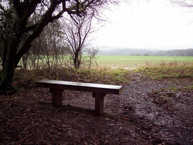 Memorial Seat at the Harewarren
