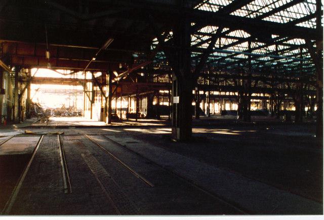 'A' shop, British Rail Engineering Ltd, Swindon (3 of 4)
