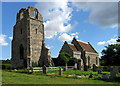 TG1435 : St Mary, Barningham Winter, Norfolk by John Salmon