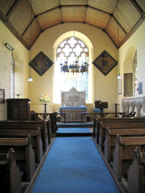 St Mary, Barningham Winter, Norfolk - East end