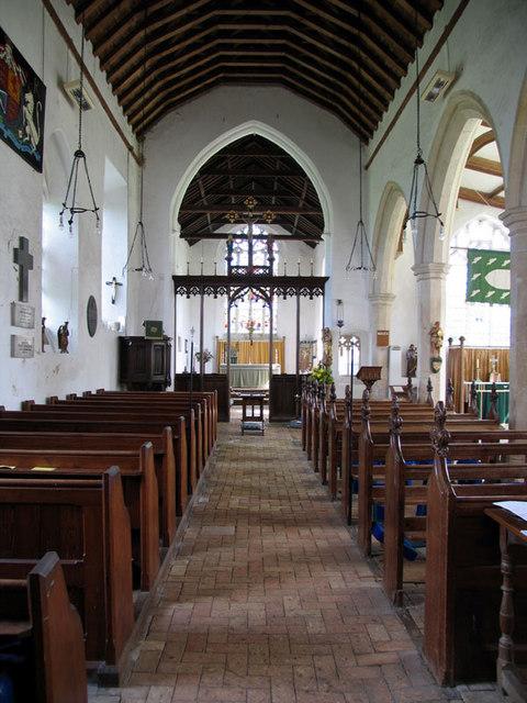 St Mary, Erpingham, Norfolk - East end