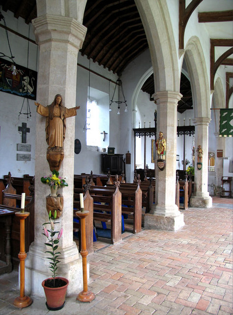 St Mary, Erpingham, Norfolk - Interior
