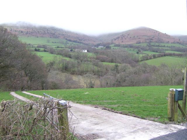 Rhiangoll Valley