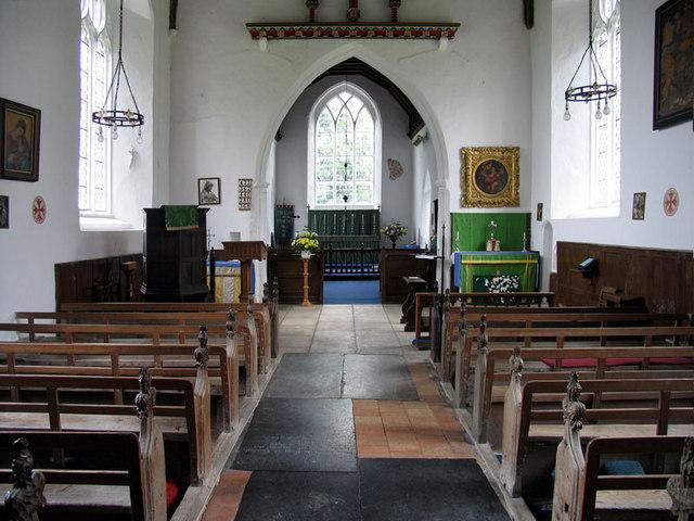 St Margaret, Calthorpe, Norfolk - East end