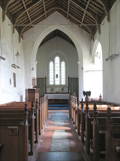 St Laurence, Hunworth, Norfolk - East end