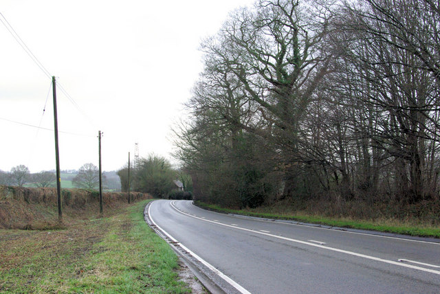 A272 near Piltdown
