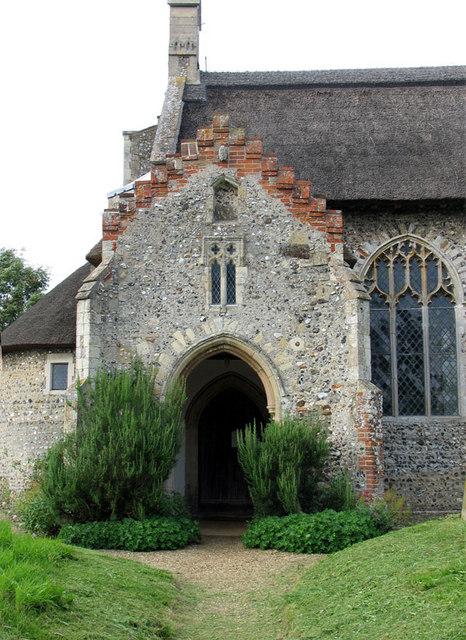 St Lawrence, Ingworth, Norfolk - Porch