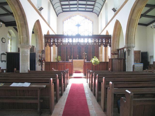 St Peter & St Paul, Edgefield, Norfolk - East end
