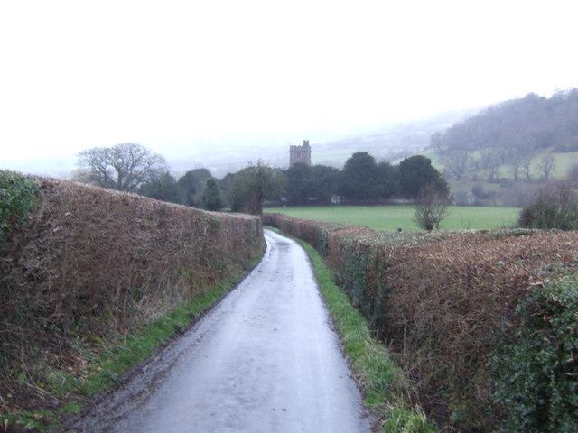 Cwmdu church tower