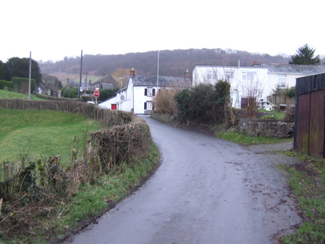 Cwmdu village