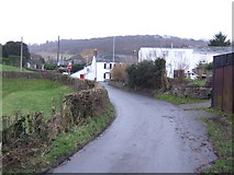 SO1723 : Cwmdu village by Jonathan Billinger