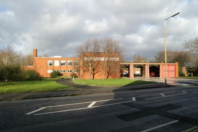 Long Eaton fire station
