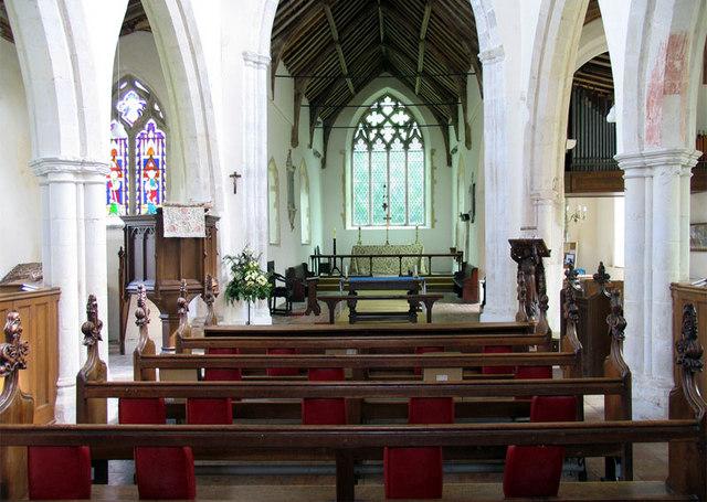 St Botolph, Banningham, Norfolk - East end