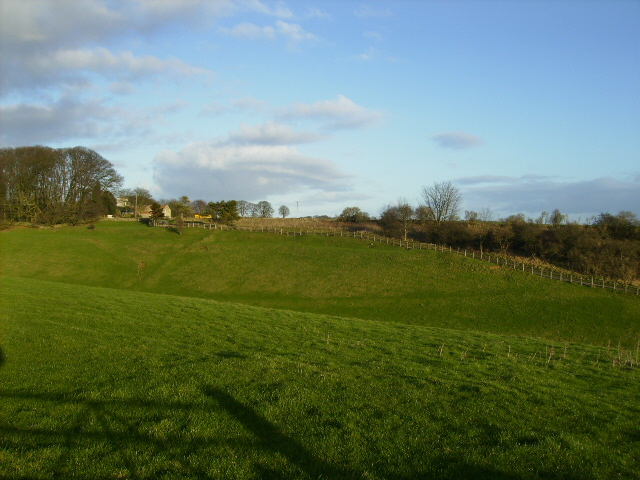 View towards Malton Cote above Netherby Dale