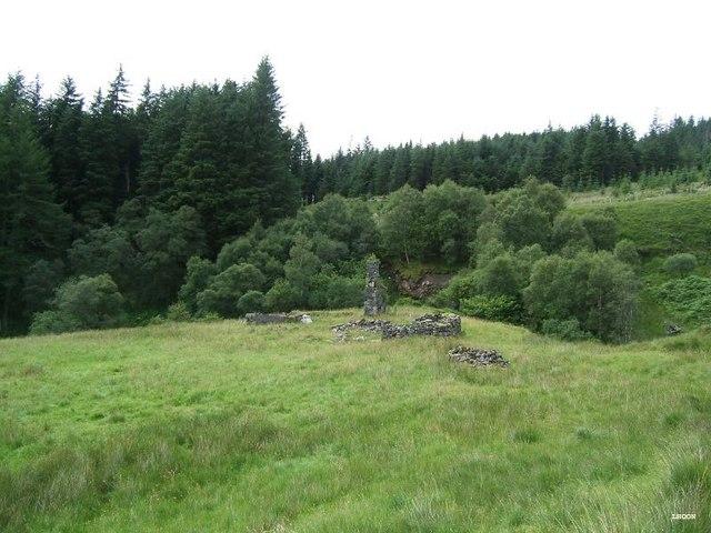 The old settlement of Bealachasan