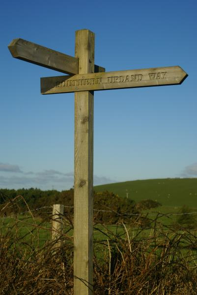 Southern Upland Way Sign